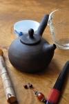 Чайник ручной лепки
